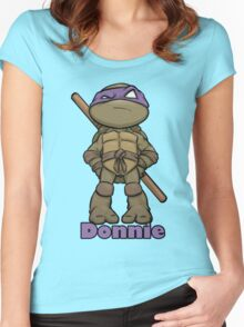 "Donnie ""TMNT"" Women's Fitted Scoop T-Shirt"