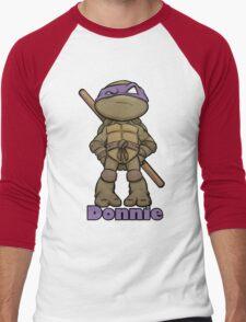 "Donnie ""TMNT"" Men's Baseball ¾ T-Shirt"