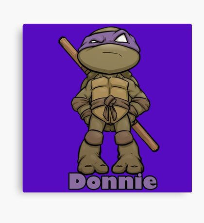 "Donnie ""TMNT"" Canvas Print"