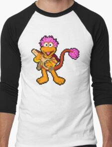 Down at Pixel Rock - Gobo Men's Baseball ¾ T-Shirt
