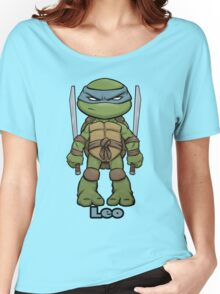 """Leo """"TMNT"""" Women's Relaxed Fit T-Shirt"""