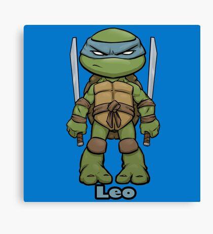 "Leo ""TMNT"" Canvas Print"