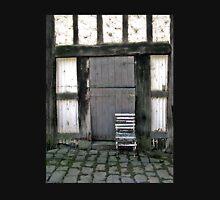 Old chair, Monsalvat Artist's Colony, Eltham  Unisex T-Shirt