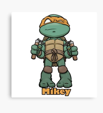 "mikey ""TMNT"" Canvas Print"