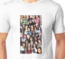 Lauren Jauregui collage Unisex T-Shirt