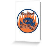 New York Metangs Greeting Card