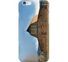 Historic Timber Barn iPhone Case/Skin