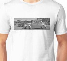 Retro Beetle Surf Unisex T-Shirt