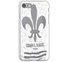Criminal Damage iPhone Case/Skin