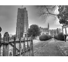 Church of England in Lavenham, Suffolk Photographic Print