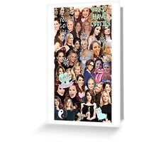 Tinamy collage Greeting Card