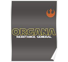 General Organa Soccer/Football Shirt Poster