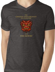 Smaug Quotes-Colbert Report- in the house Mens V-Neck T-Shirt