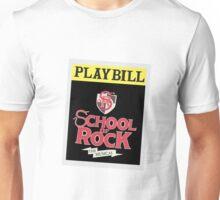 School of Rock Playbill Unisex T-Shirt