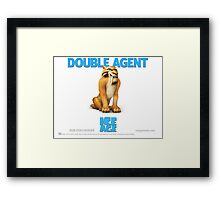 Double Agent Diego - Ice Age Framed Print