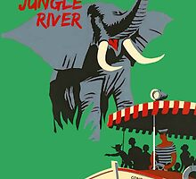 Jungle Cruise Attraction Poster by AliceCorsairs