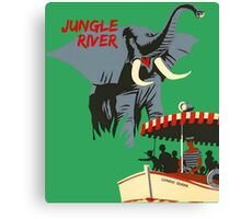 Jungle Cruise Attraction Poster Canvas Print