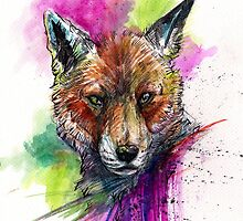Cunning Mr Fox by WOLFSKULLJACK