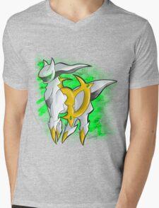 Arceus Mens V-Neck T-Shirt