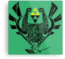 Zelda Mash-up Metal Print