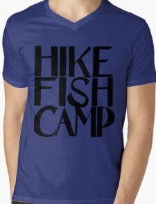 hike fish camp Mens V-Neck T-Shirt