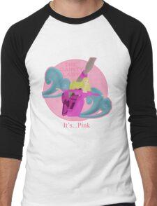 It's... Pink Men's Baseball ¾ T-Shirt
