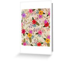 Floral 2 Greeting Card