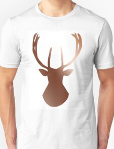 Lapland Madness Chrome Deer 1 B/W T-Shirt