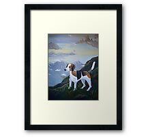 Mountain Foxhound  Framed Print