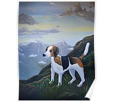 Mountain Foxhound  Poster