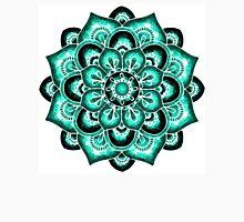 Turquoise watercolor mandala Unisex T-Shirt
