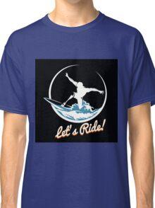 Surfer Print Design Classic T-Shirt