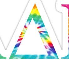 Alpha Delta Pi - Tie Dye Sticker