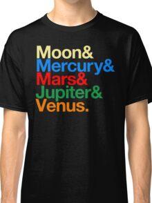 Sailor Senshi x Helvetica (Color) Classic T-Shirt