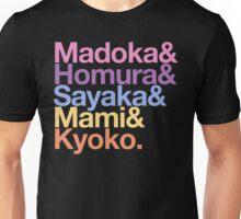Contractually Obligated Magical Girls - Madoka goes Helvetica Unisex T-Shirt