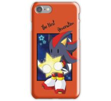 Next generation of shadow from sonic iPhone Case/Skin