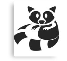 Raccoon Been Caught Canvas Print
