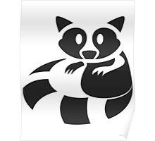 Raccoon Been Caught Poster