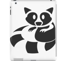 Raccoon Been Caught iPad Case/Skin