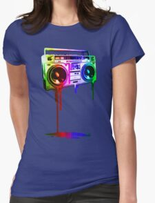 Melting Boombox (digital rainbow color) T-Shirt