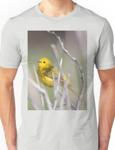Yellow Warbler in the Reeds Unisex T-Shirt