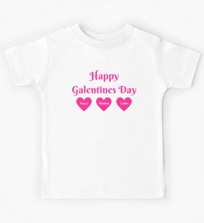 Parks & Rec: Galentines Day  Kids Tee