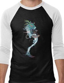 Journeying Spirit (ermine) Men's Baseball ¾ T-Shirt