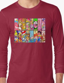80s Girls Totally Radical Cartoon Spectacular!!! Long Sleeve T-Shirt