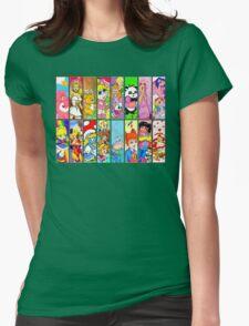 80s Girls Totally Radical Cartoon Spectacular!!! T-Shirt
