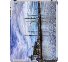 Tall Ships in Whitehaven Harbour iPad Case/Skin