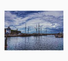Tall Ships in Whitehaven Harbour Kids Tee