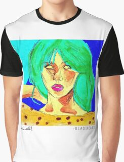 Glassheart (Blue/Green) Graphic T-Shirt