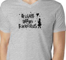 gravity plays favorites Mens V-Neck T-Shirt