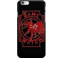 mr. game & watch iPhone Case/Skin